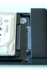 Test boitier disque dur SATA USB 3.0 Orico 2588US3 - 06