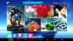 Test box Android Bqeel K12 - interface-001
