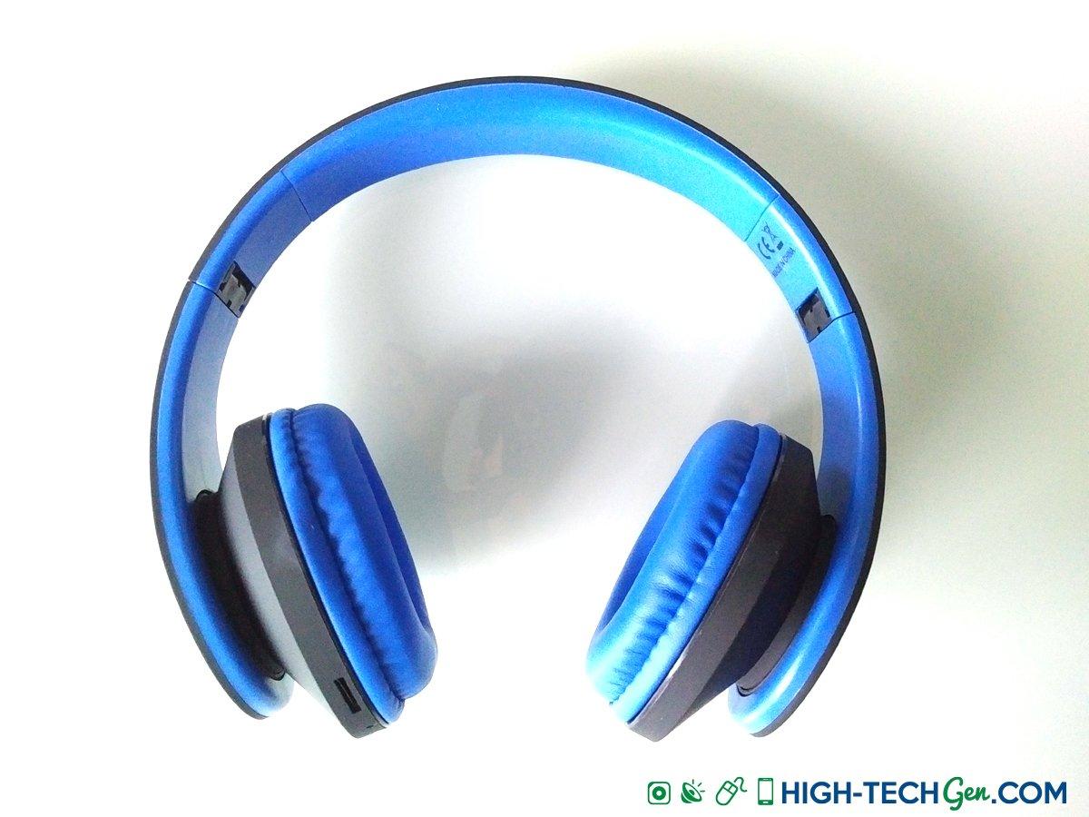 test du casque avec radio fm docooler jh 812 bluetooth fm et mp3