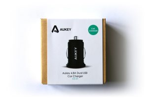 Test chargeur allume-cigare Aukey CC-S1 - 001
