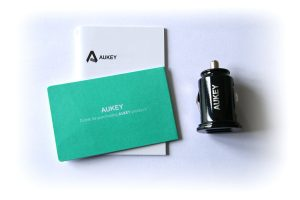 Test chargeur allume-cigare Aukey CC-S1 - 004
