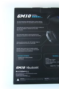 Test casque gamer AudioMX GM10 - 02
