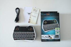 Test clavier sans fil Rii Mini i28 -02