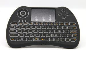 Test clavier sans fil rétro-éclairé Seguro T9B - 06