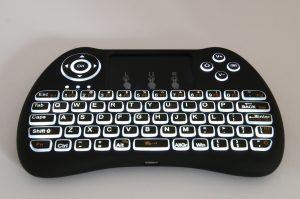 Test clavier sans fil rétro-éclairé Seguro T9B - 13