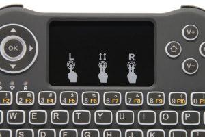 Test clavier sans fil rétro-éclairé Seguro T9B - 16