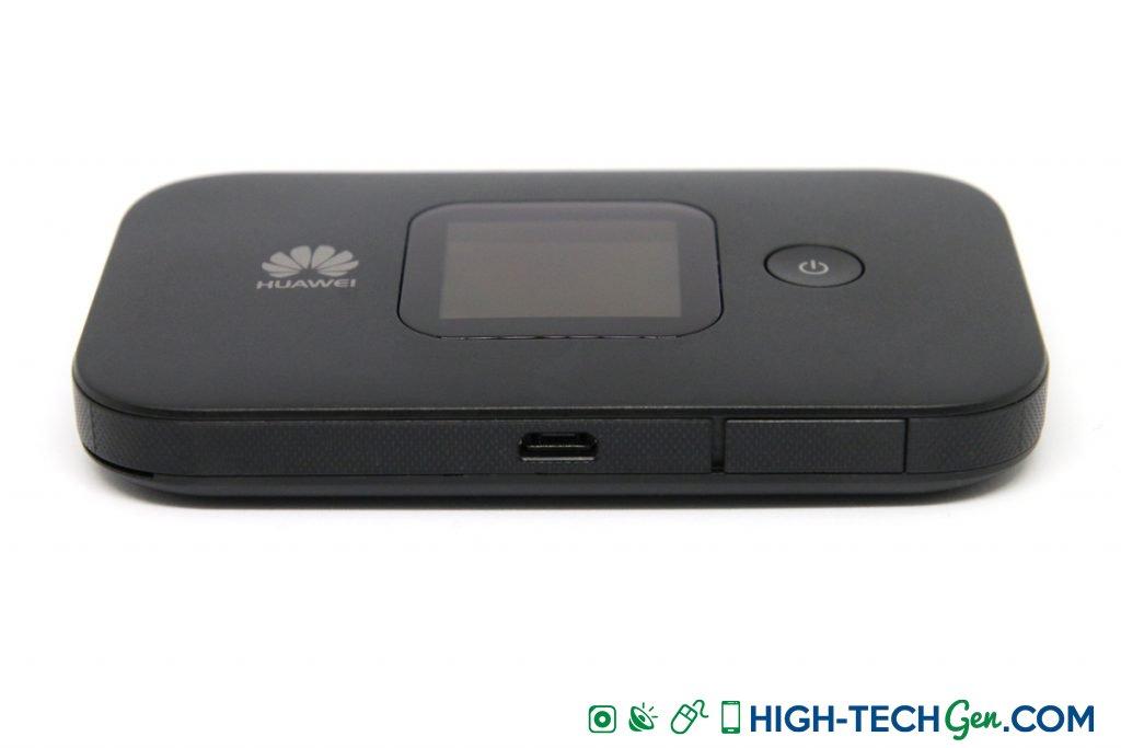 Test du Huawei E5577C modem hotspot 4G - 03