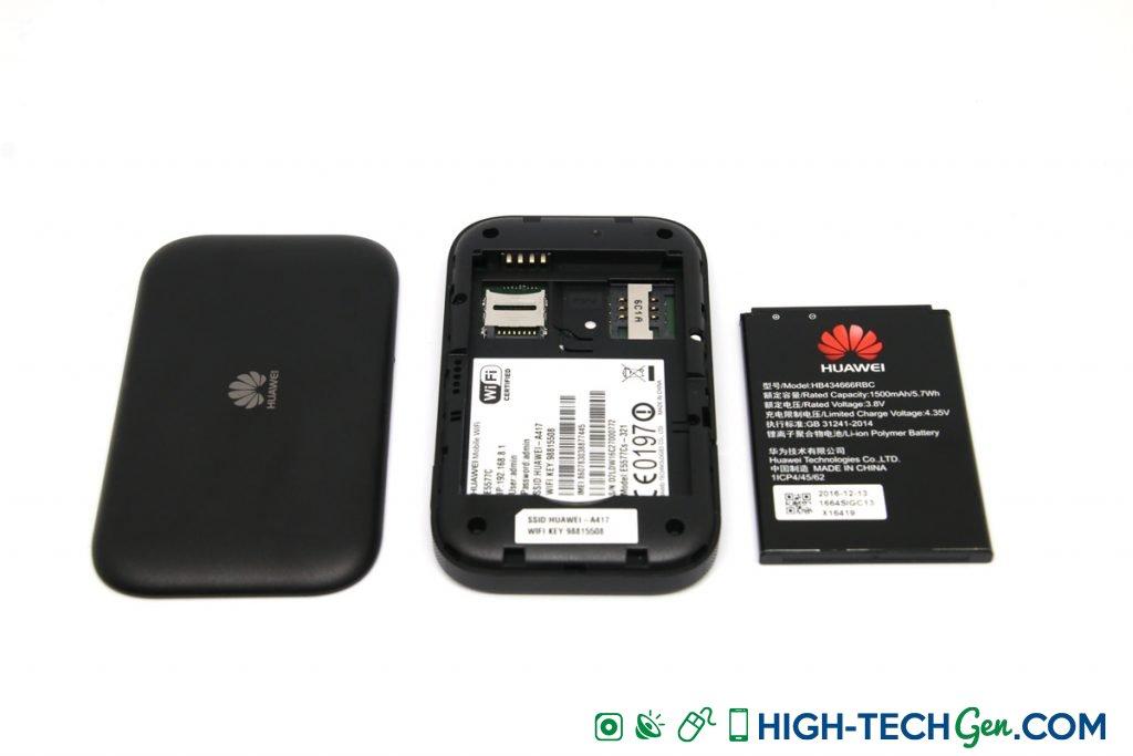 Test du Huawei E5577C modem hotspot 4G - 07