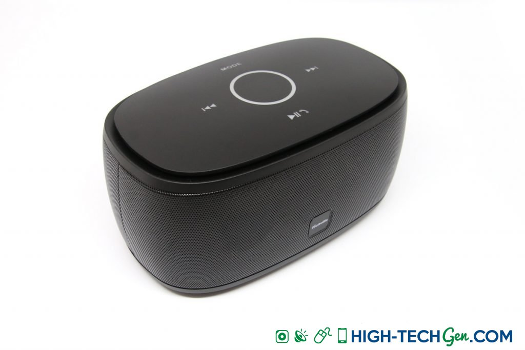 Test de l'enceinte Bluetooth Techvilla F01