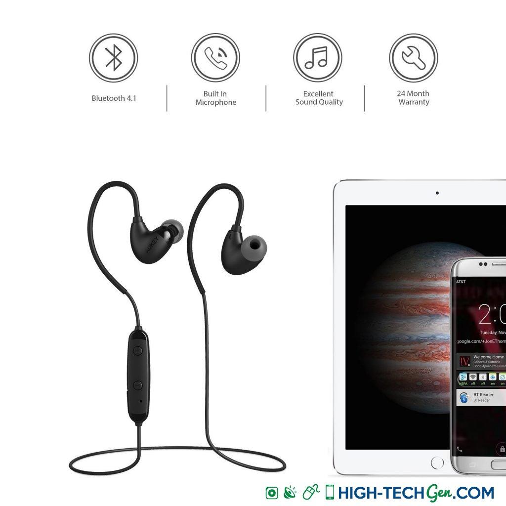 Test des écouteurs Bluetooth Aukey EP-B16