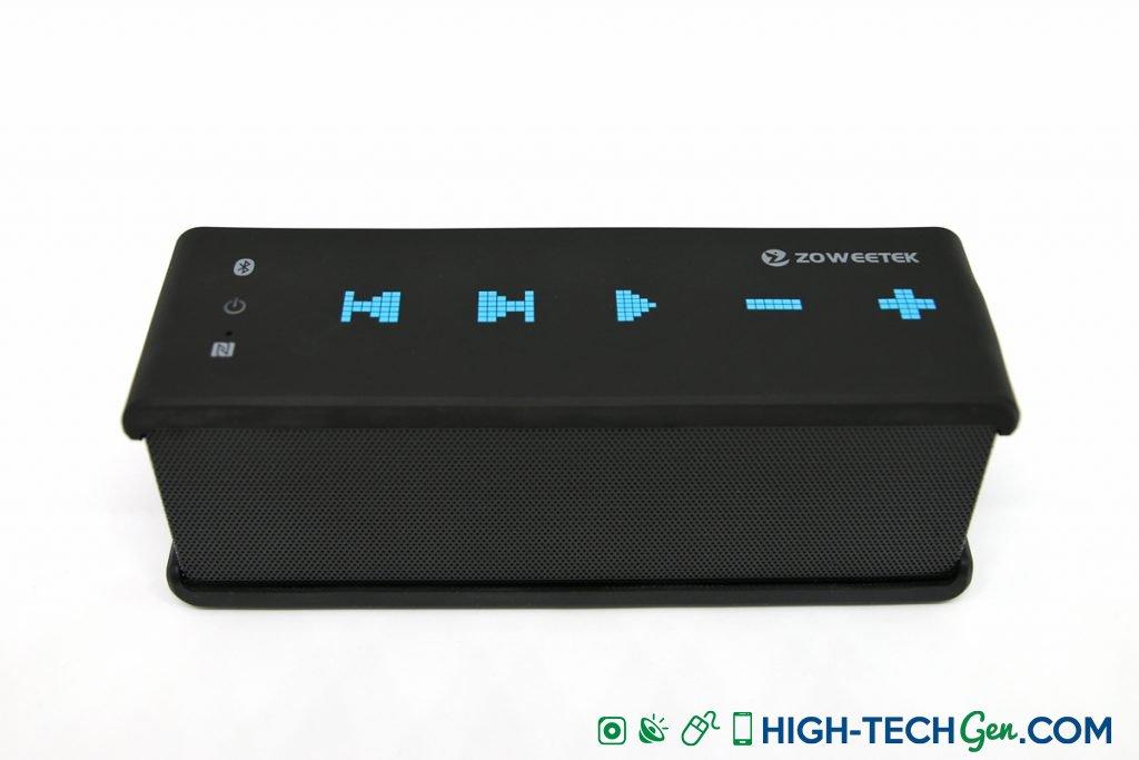 Test de l'enceinte Bluetooth Zoweetek
