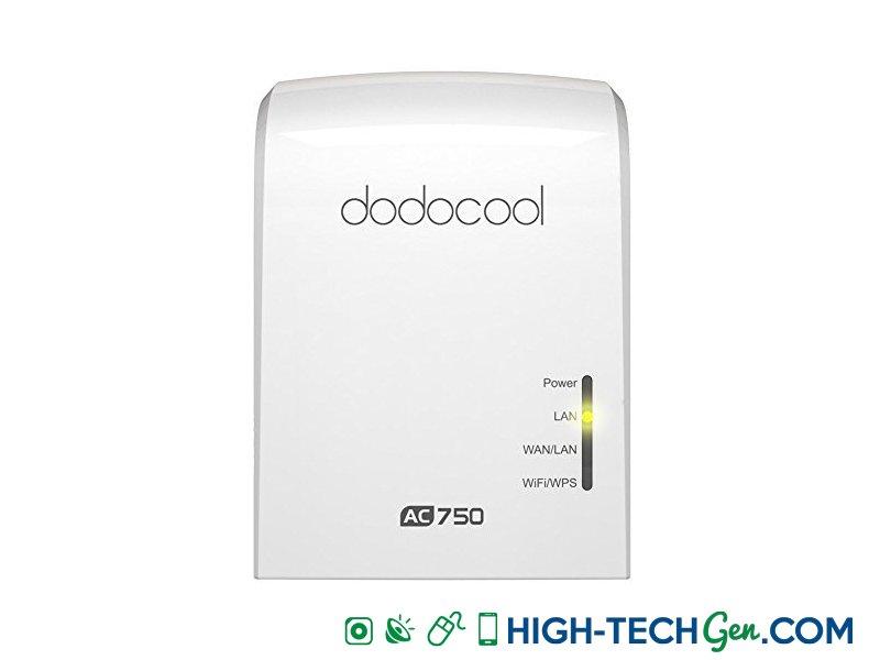 Test du répétiteur Wifi Dodocool AC750