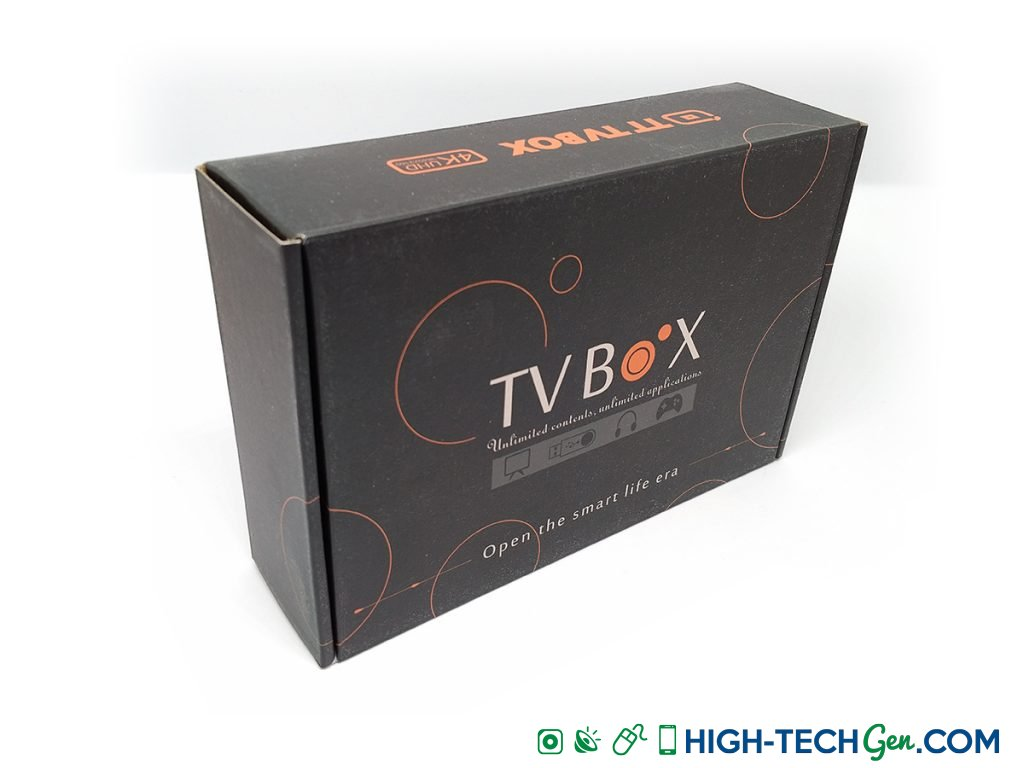 Test Box TV Android Bqeel AX9