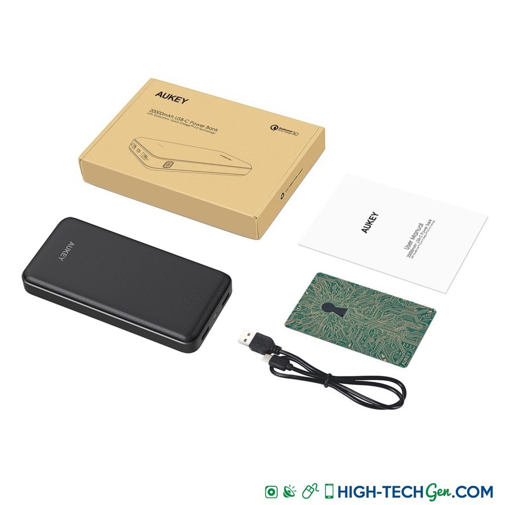 Test de la batterie de secours Aukey PB-T17