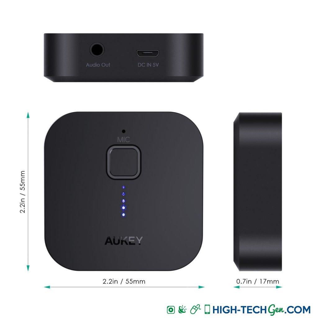test du récepteur Bluetooth Aukey BR-C1