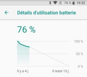 Autonomie de l'Asus Zenfone Max Pro M1